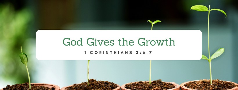 God gives Growth